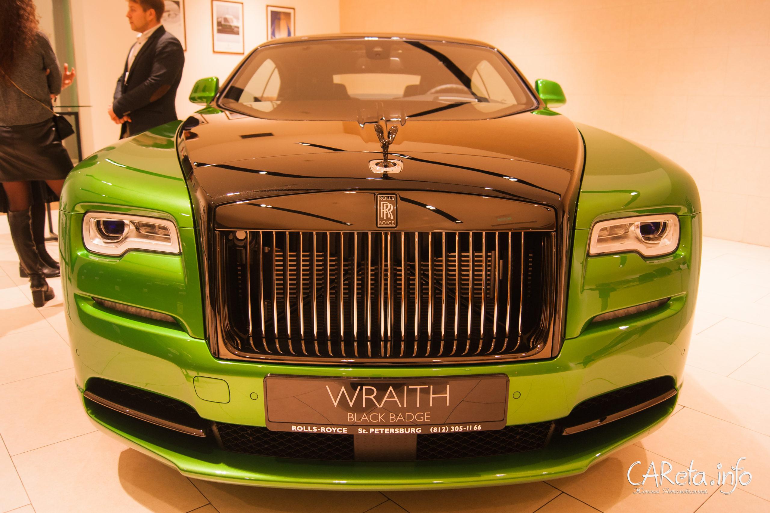 Таких больше нет. Rolls-Royce представил в Петербурге эксклюзивные модели Wraith и Phantom
