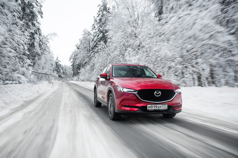 Mazda CX-5 получила зимнюю спецсерию
