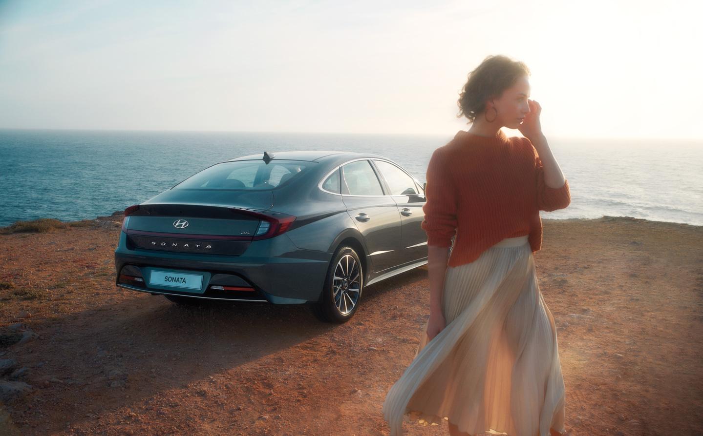 Объявлены цены на новый Hyundai Sonata