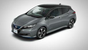 Nissan обновил электрокар Leaf