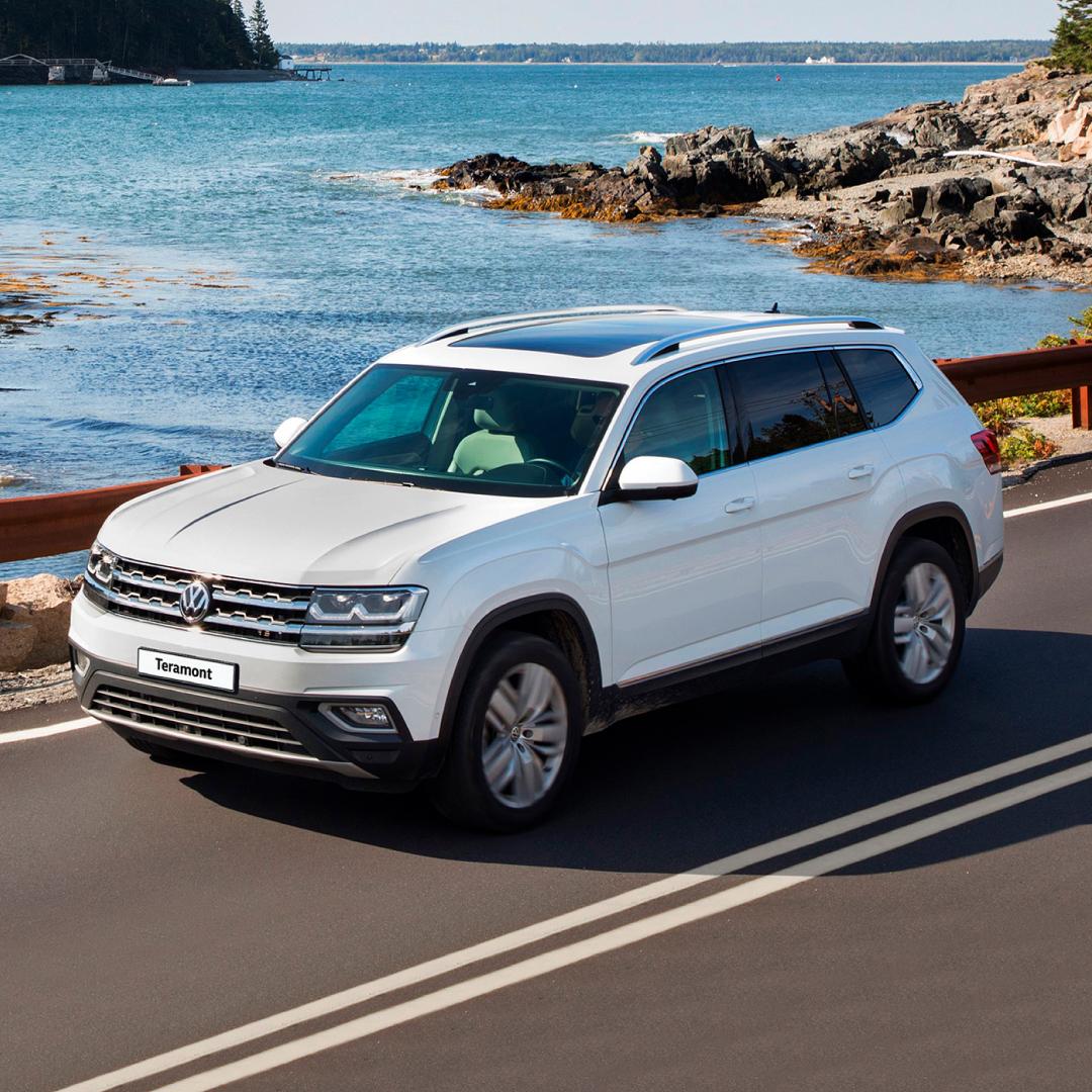 Volkswagen Teramont в 2019 году нарастил свою популярность в Петербурге