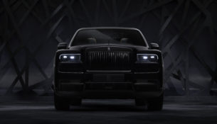 В России состоялась премьера Rolls-Royce Cullinan Black Badge