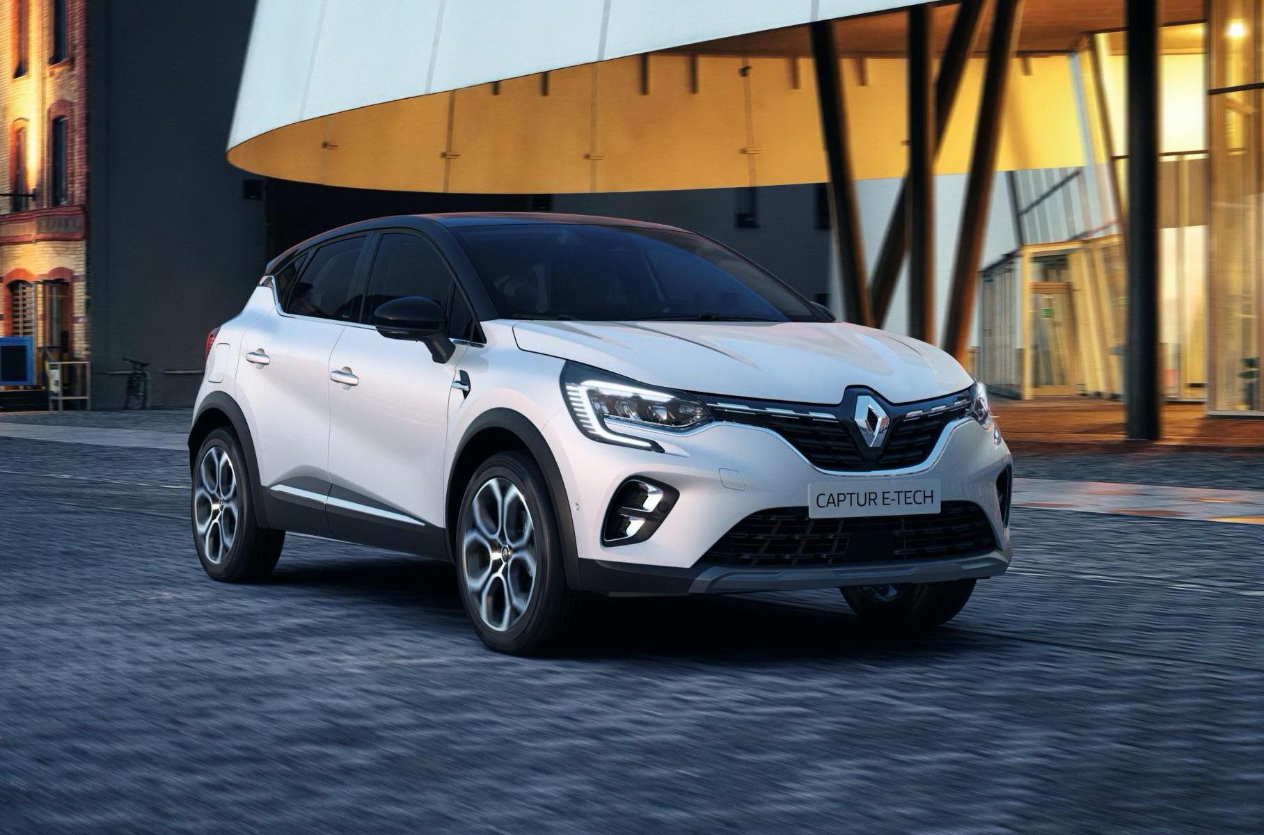 Renault представила электрические версии Clio и Captur