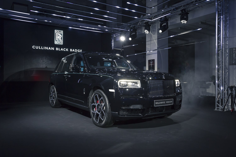 В России состоялась премьера Rolls-Royce Cullinan Black Badge