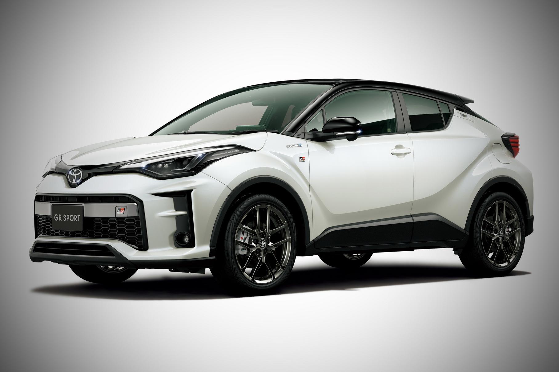 """Toyota CH-R получит """"заряженную"""" версию GR"""