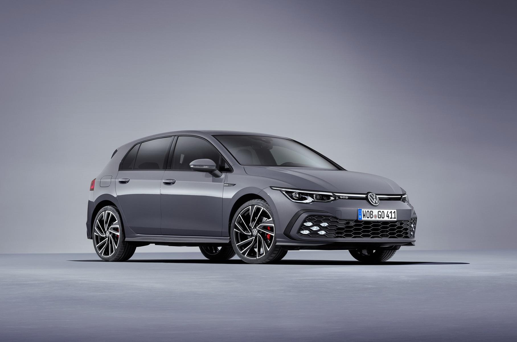 Volkswagen показал спорт-версии нового Golf