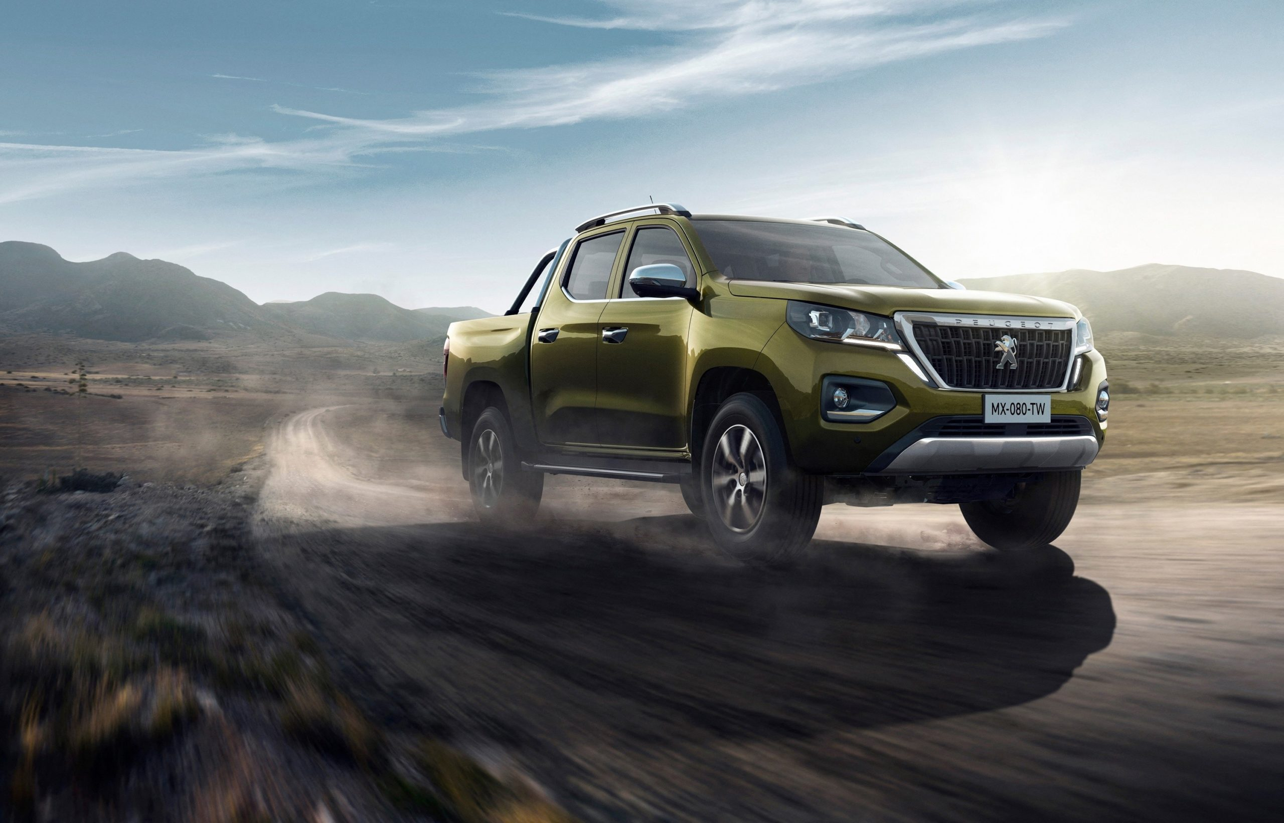 Peugeot представила пикап Landtrek