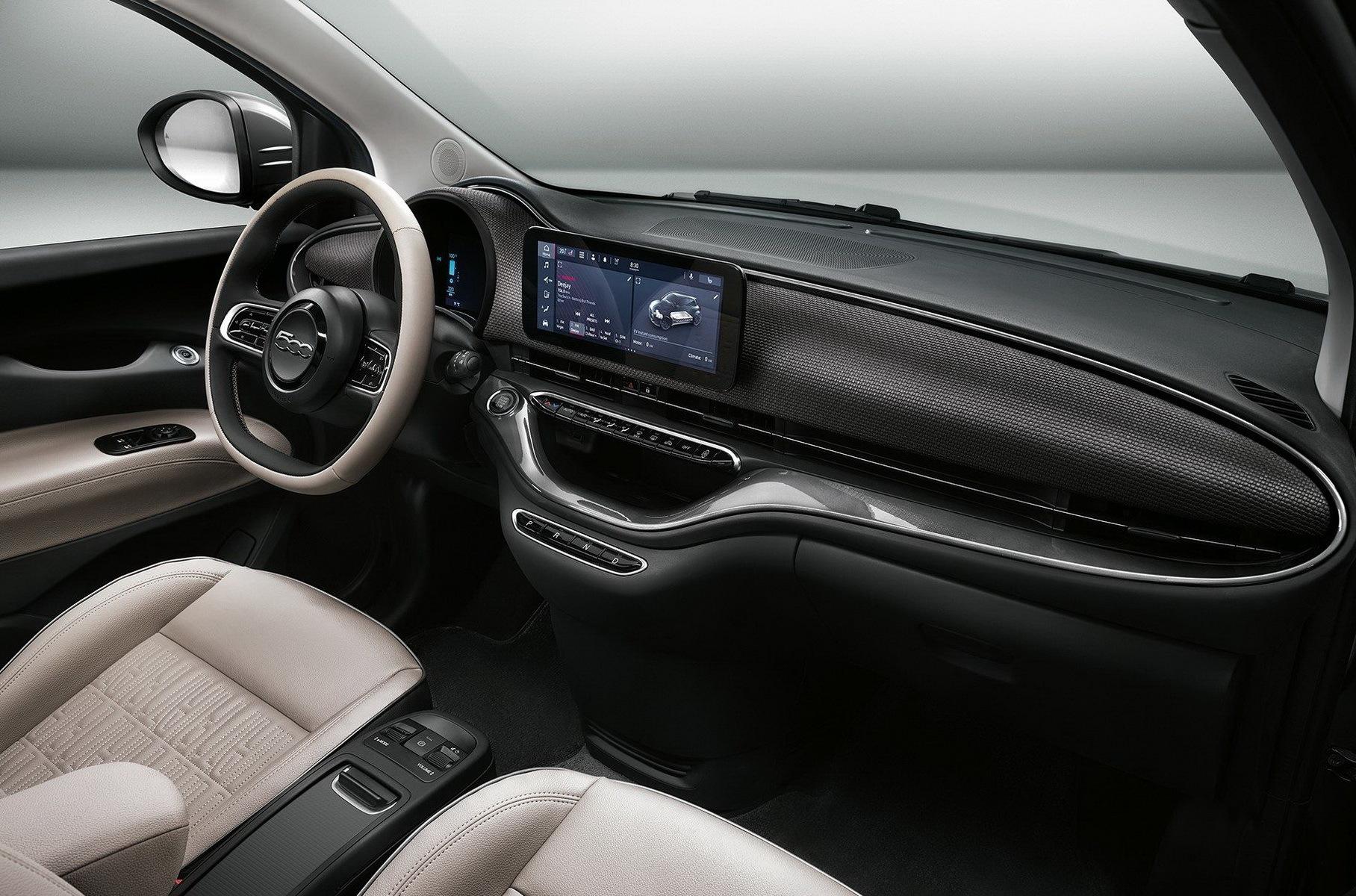 Новый Fiat 500: теперь электрический