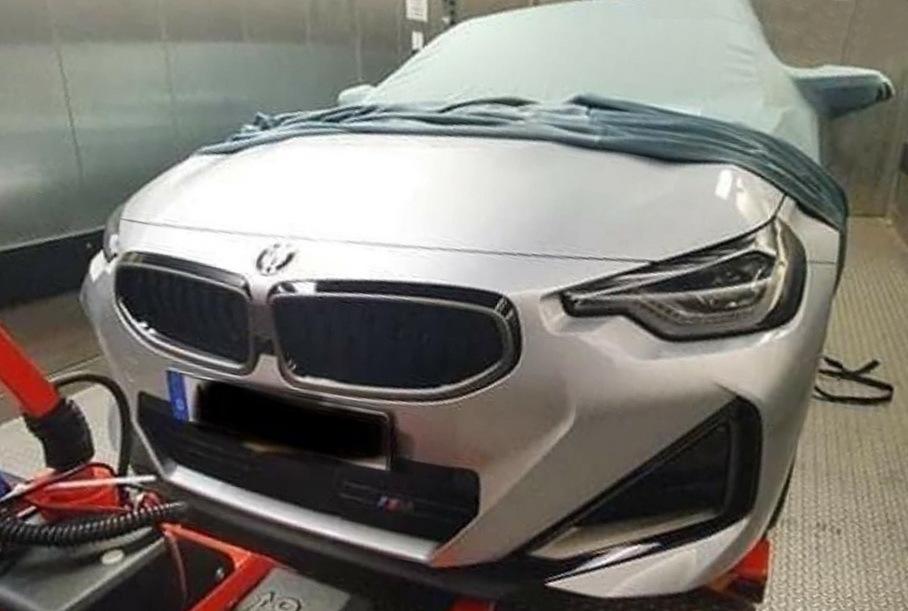 """Новая """"двойка"""" от BMW: шпионские фото"""