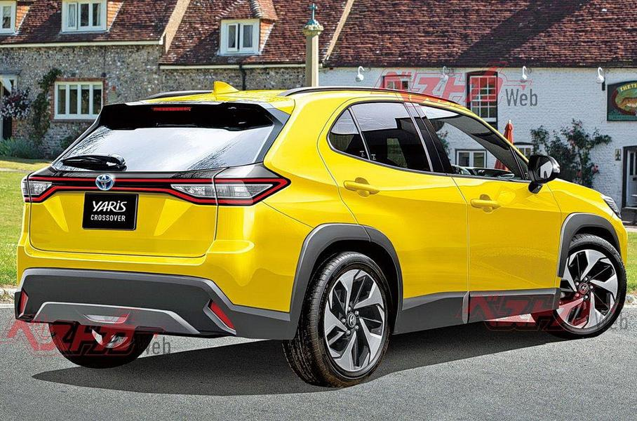 Toyota готовит субкомпактный кроссовер для глобального рынка
