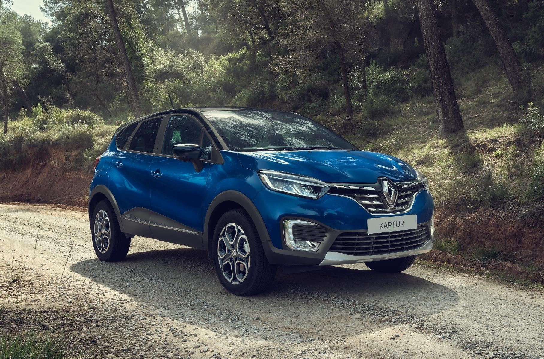 Renault Kaptur для России получил обновление