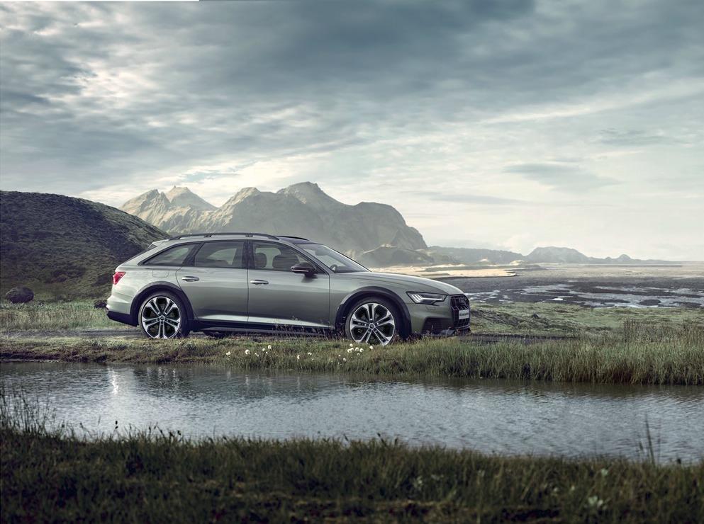 В Россию привезли лимитированную версию Audi A6 Allroad Quattro