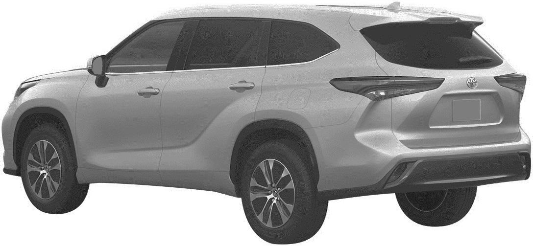 Новая Toyota Highlander для России: первые изображения