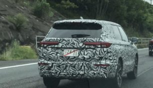 Новый Mitsubishi Outlander попал на фото