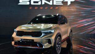 Kia выпустила тизер нового бюджетного кроссовера Sonet