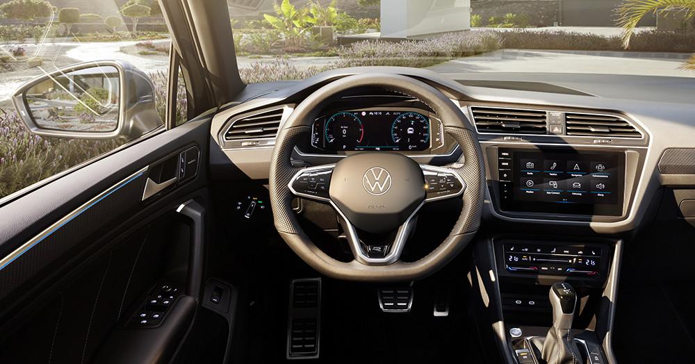 VW Tiguan для России получит обновление