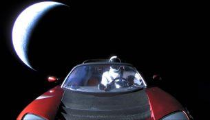 Tesla Roadster приблизилась к Марсу максимально близко