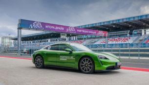 Петербуржцы уже протестировали Porsche Taycan