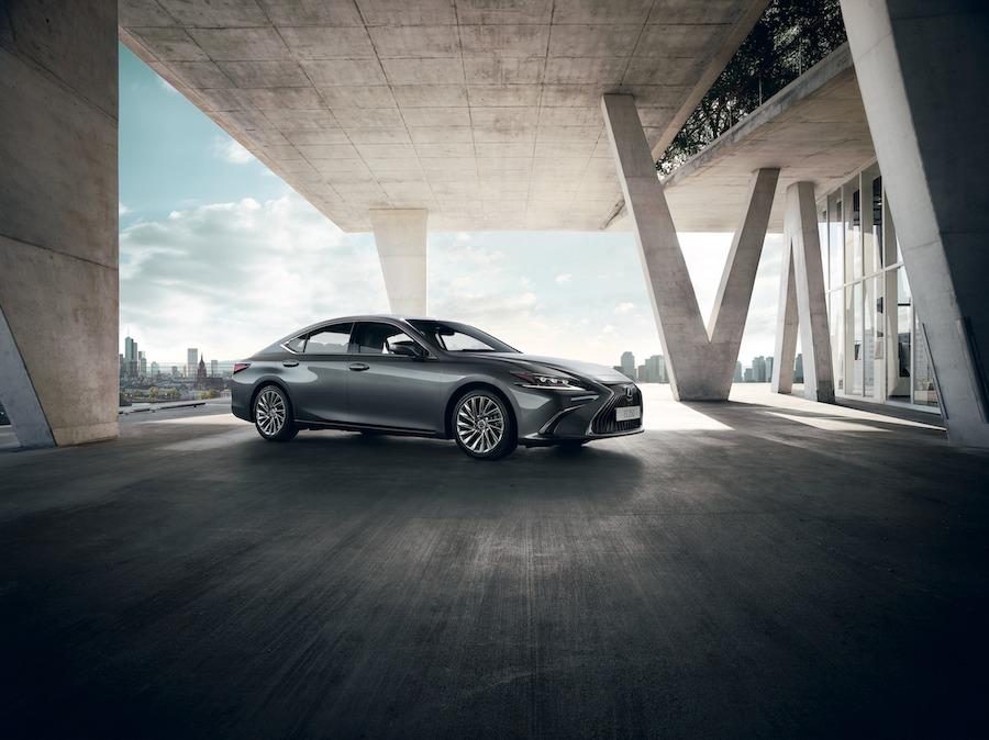В России появится спецверсия Lexus ES 250