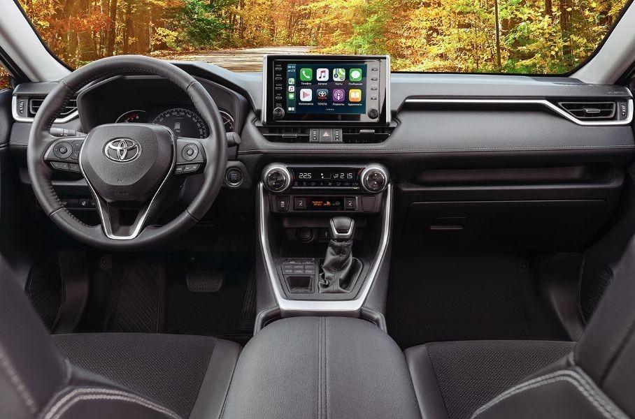 Toyota RAV4 получил новую комплектацию