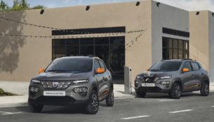 Renault представила электромобиль Dacia Spring