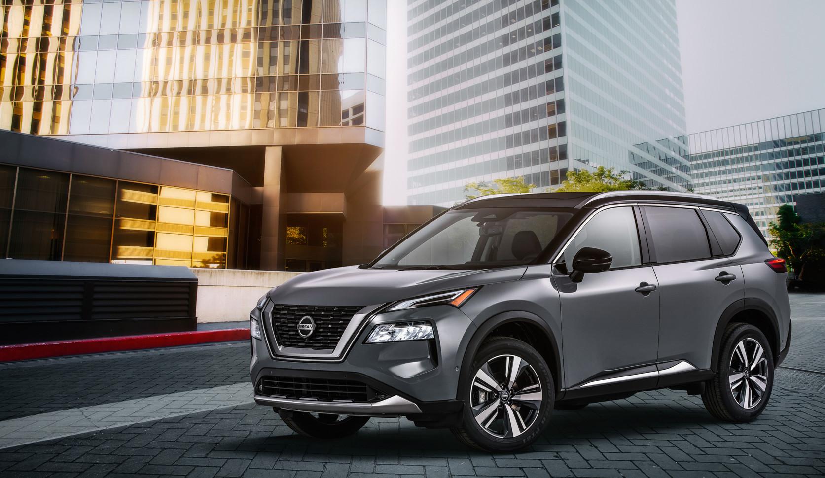 Новый Nissan X-Trail получил патент в России