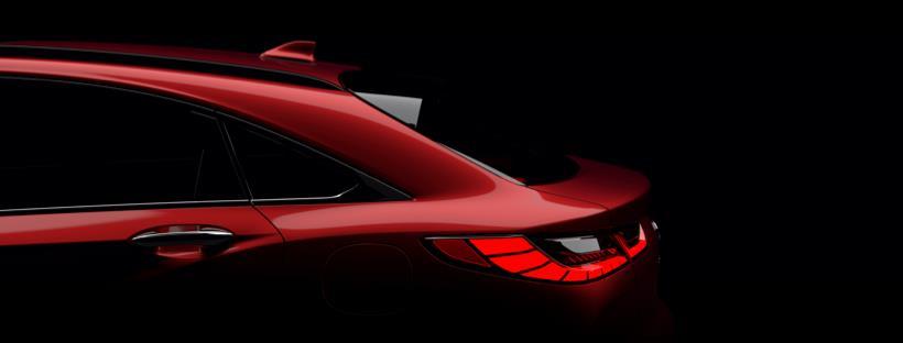 Infiniti показала тизер нового кросс-купе
