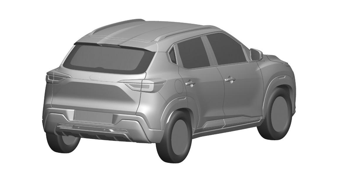 В России запатентовали Nissan Magnite