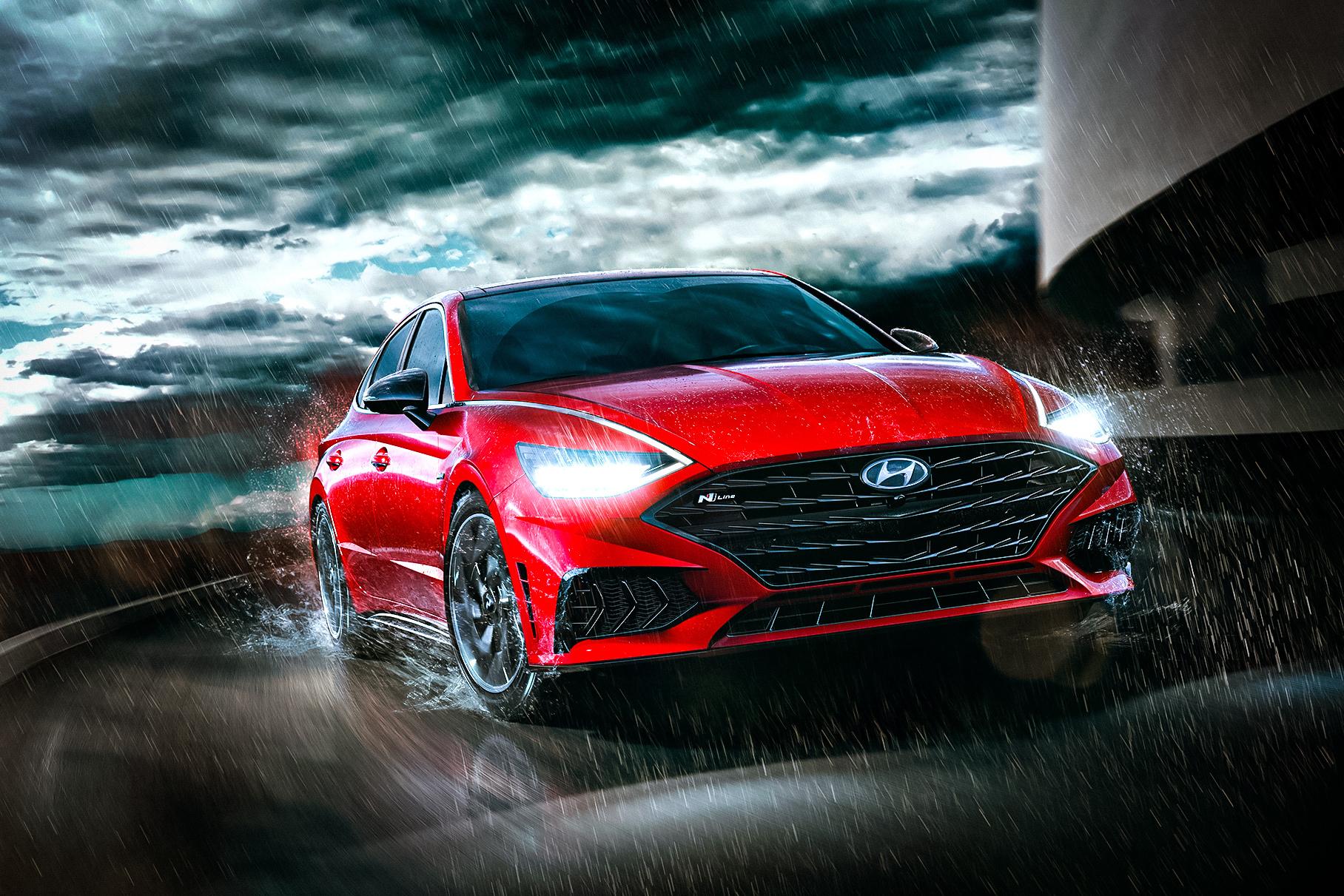 Представлена самая мощная Hyundai Sonata