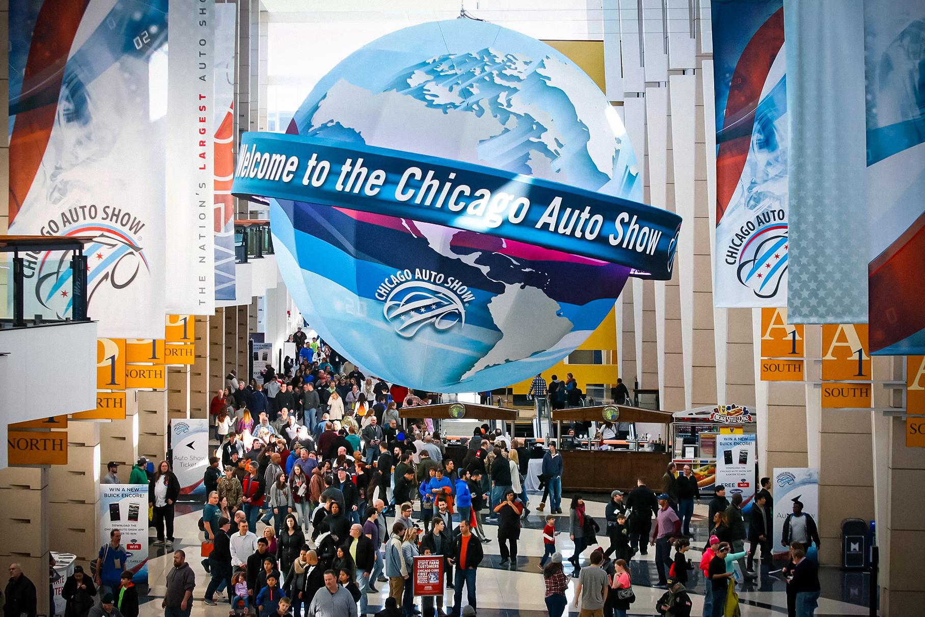 Автосалон в Чикаго перенесли из-за коронавируса
