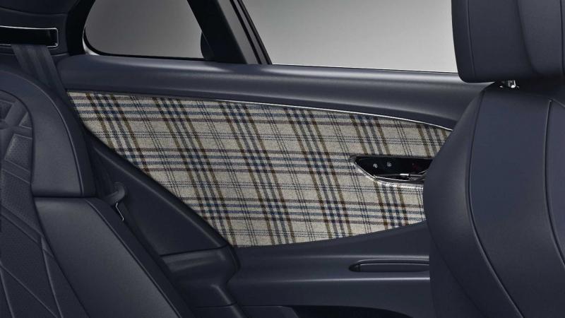 Британское комбо: новый твидовый салон Bentley