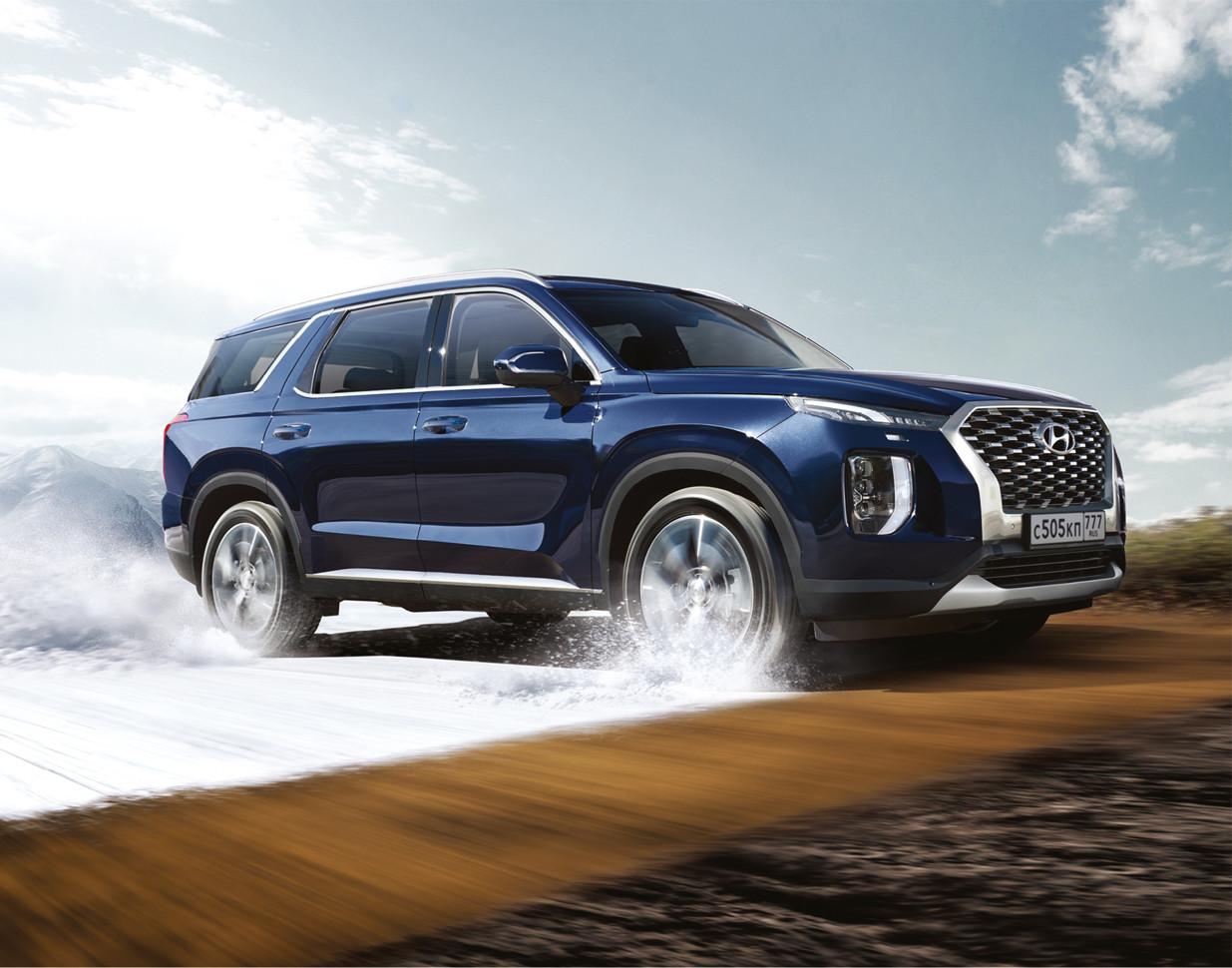 Hyundai Palisade: объявлены российские цены