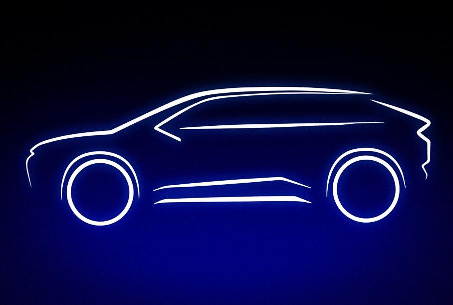 Toyota анонсировала новый электрический кроссовер