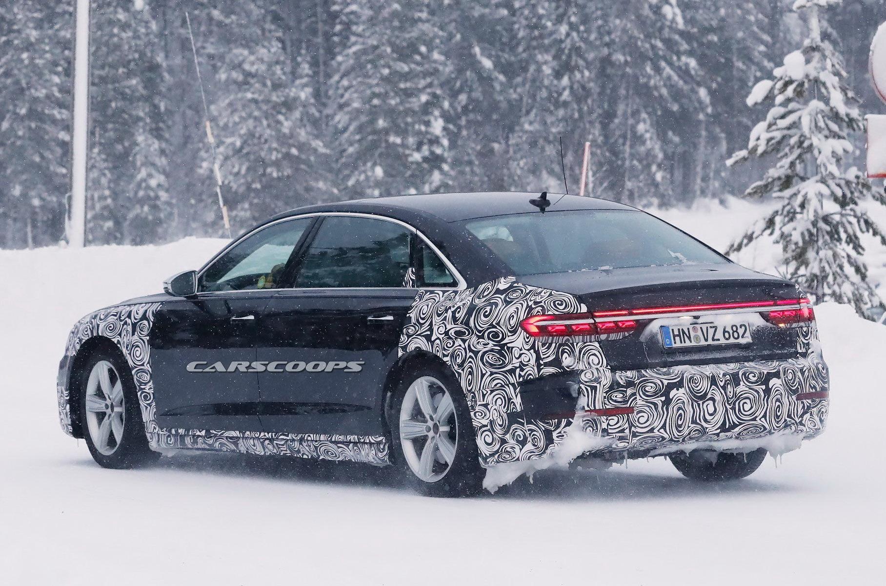 Первые снимки лимузина Audi-Horch