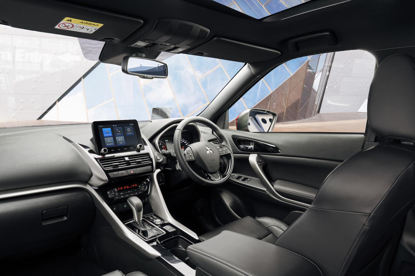 Mitsubishi раскрыла характеристики нового Eclipse Cross