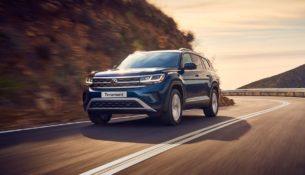 Обновление VW Teramont в России: первые подробности