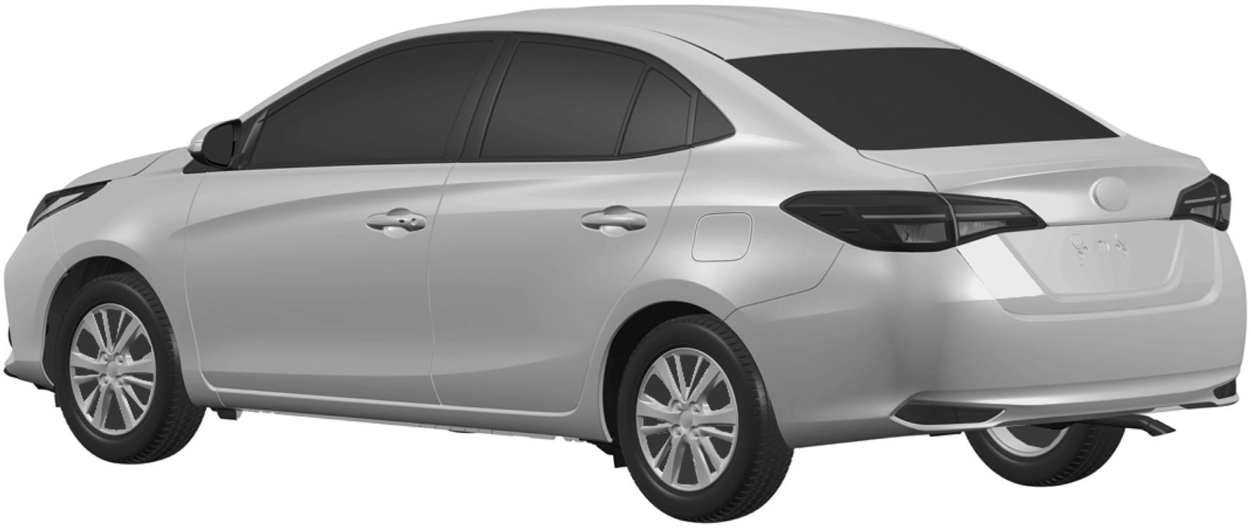 Toyota запатентовала в России бюджетный седан Vios