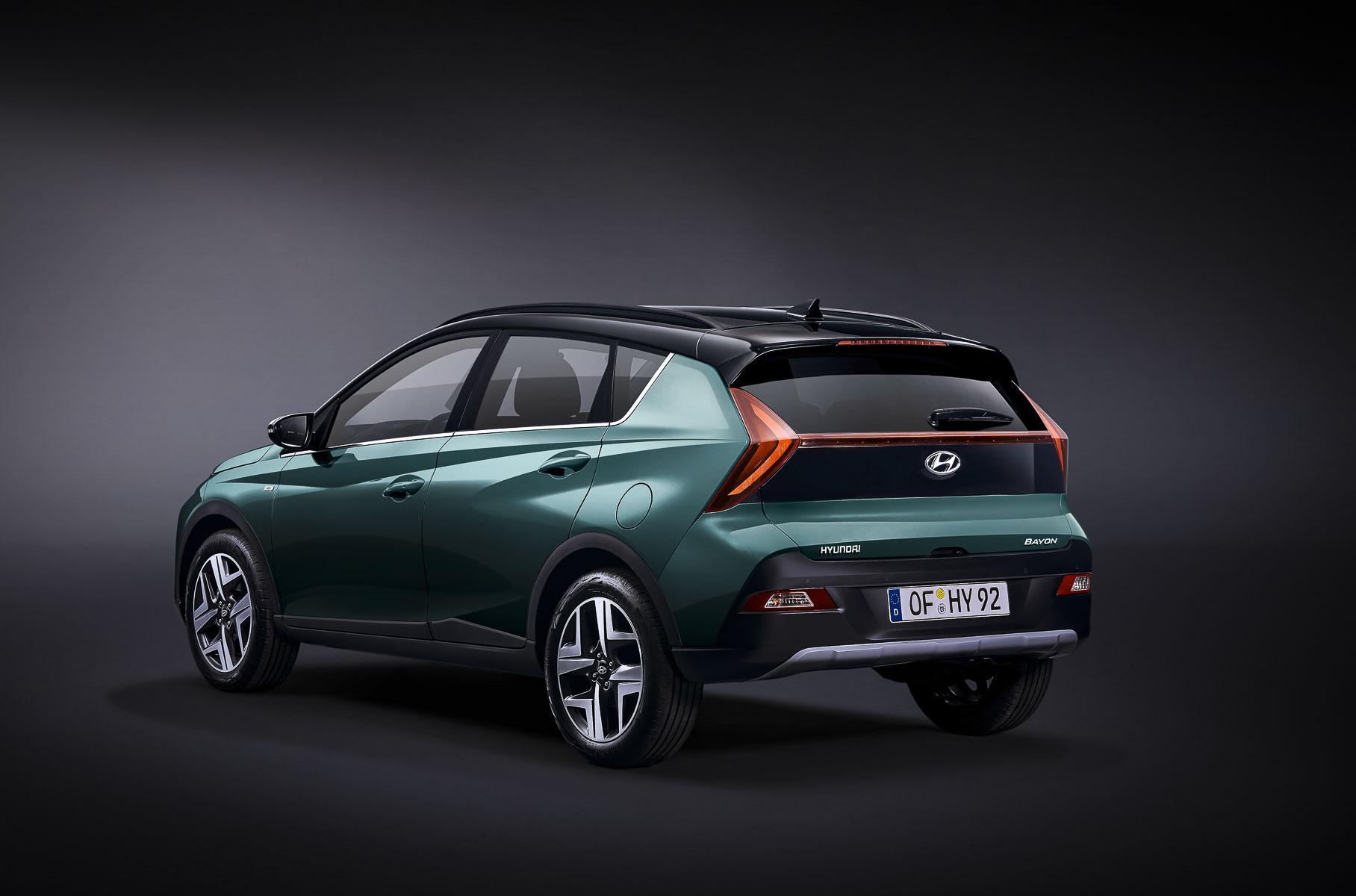 Hyundai представила маленький кроссовер Bayon