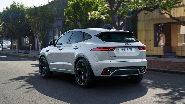 Объявлены цены на обновленный Jaguar E-Pace