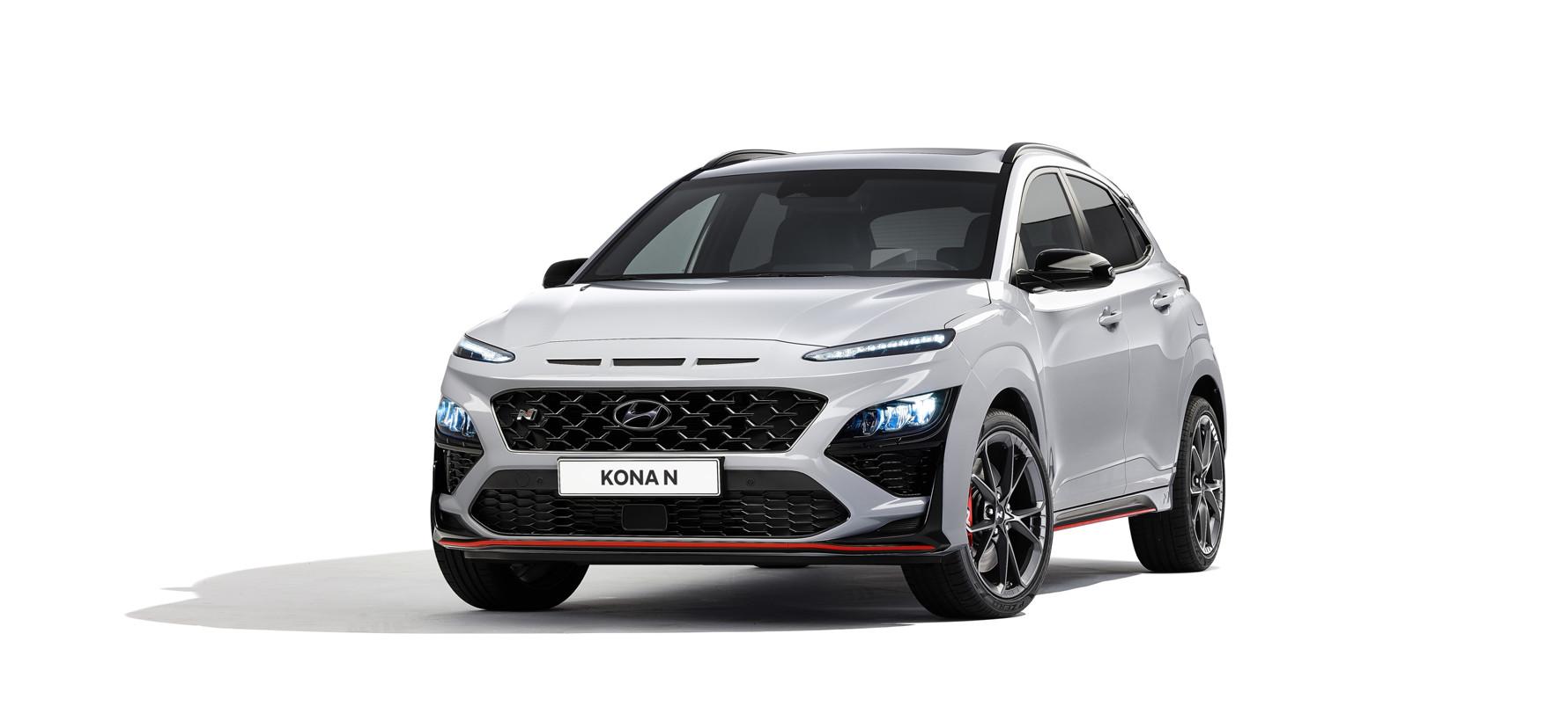 Hyundai представил «заряженный» кроссовер Kona N