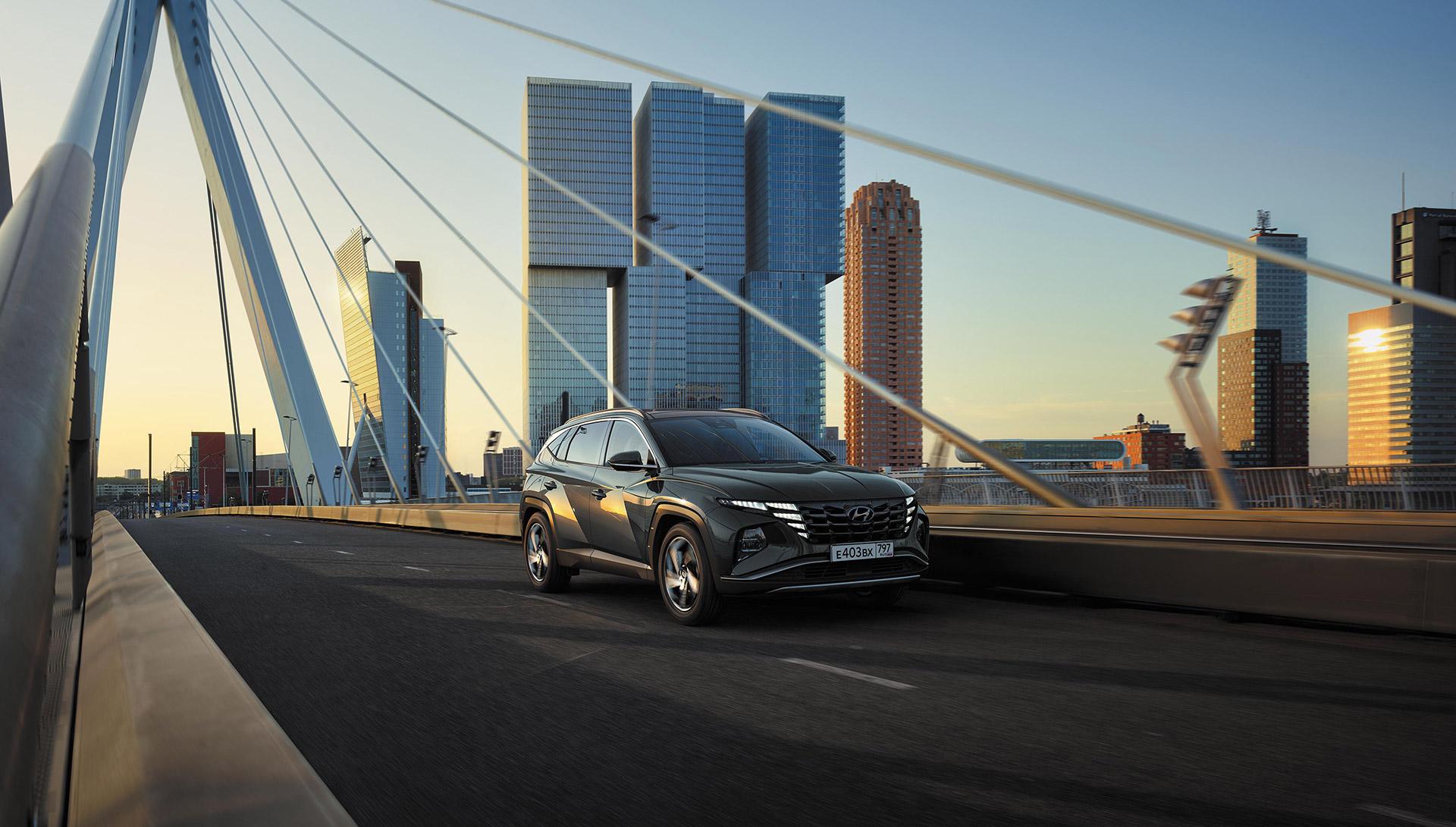 Hyundai представил новый Tucson