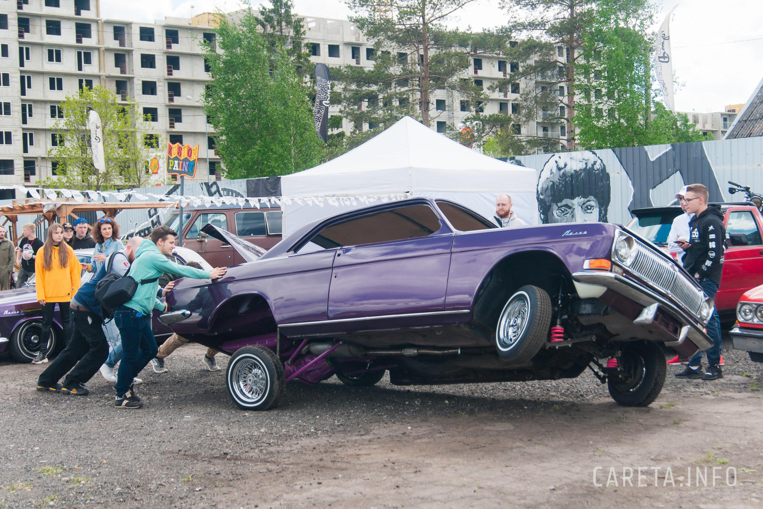 Кастом Weekend впервые в Петербурге
