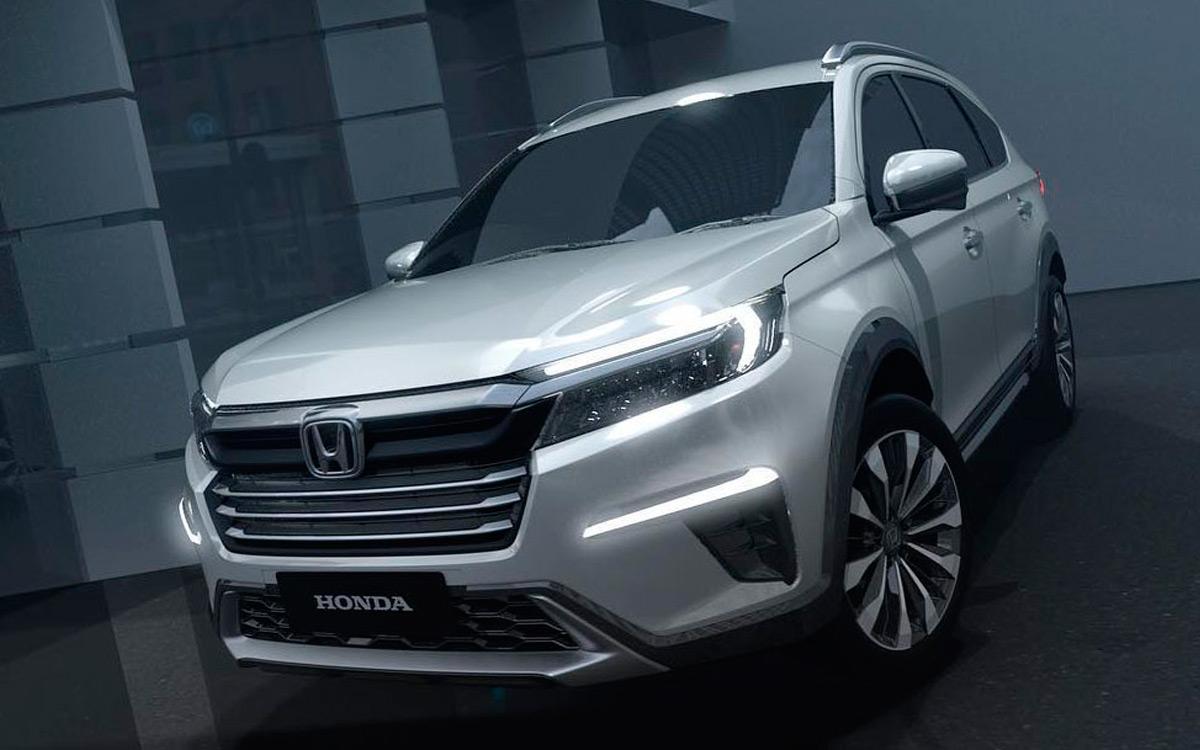 Honda показала концепт нового кроссовера