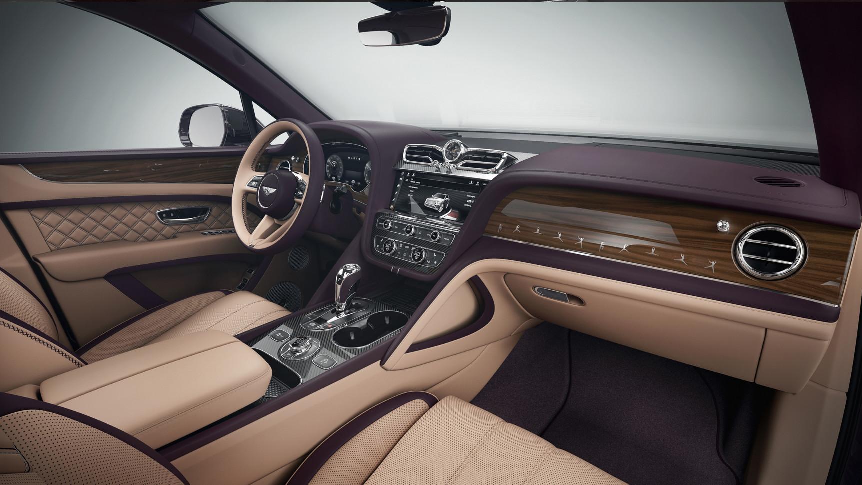 Bentley представила серию эксклюзивных Bentayga Speed для России