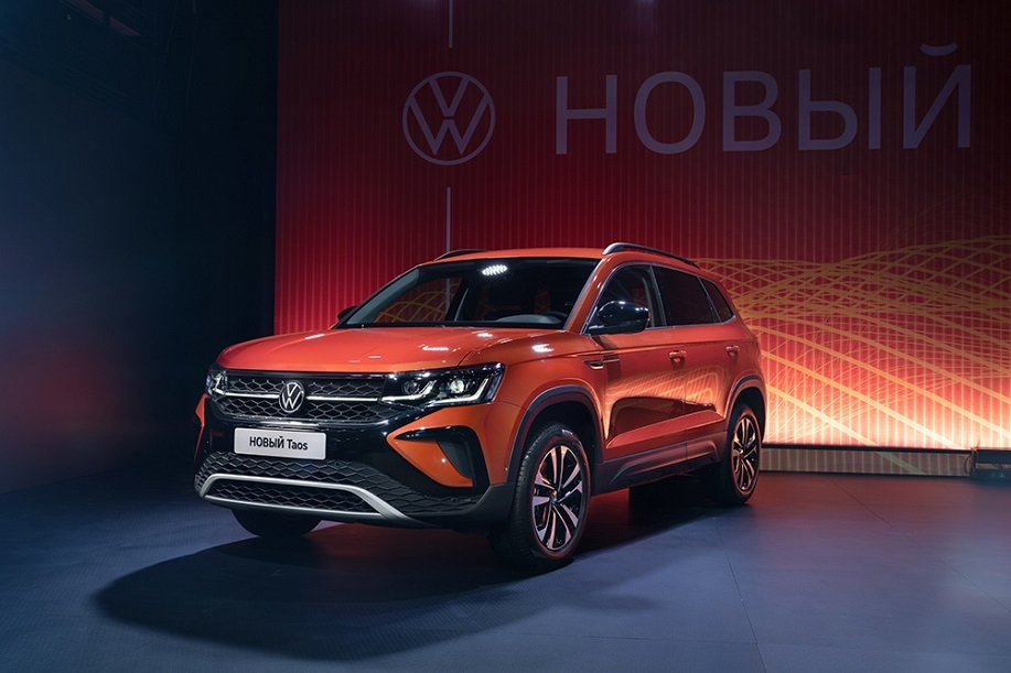 Volkswagen представил Taos в России