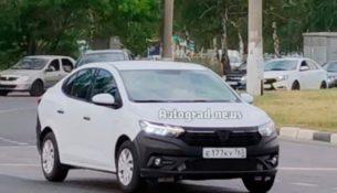 В Тольятти сфотографировали новый Renault Logan