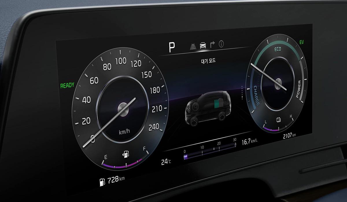 В Корее представили гибридный Kia Sportage