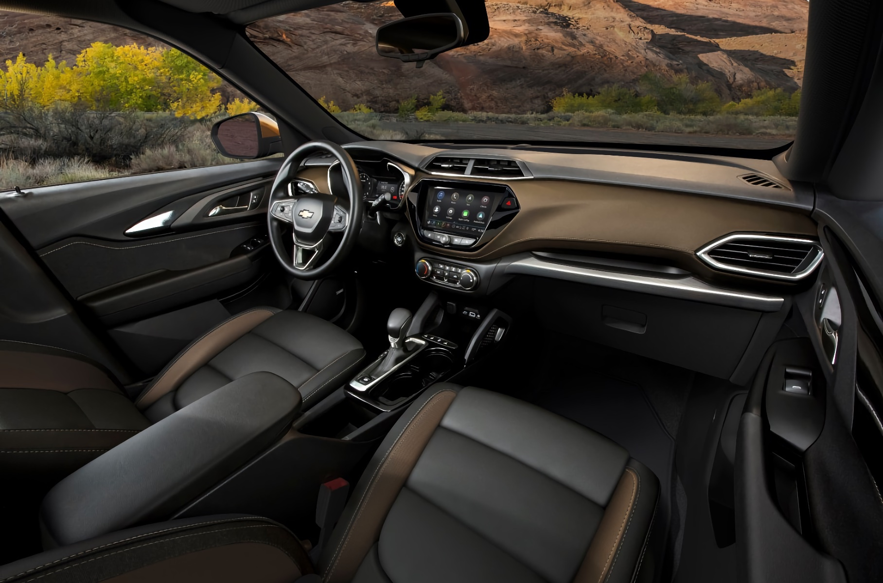 В России появился новый Chevrolet Trailblazer